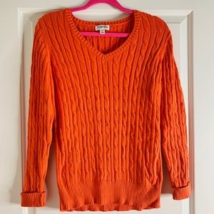 Orange Sweater Weather Sweatshirt
